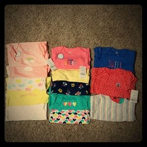 Carter's baby girl lot